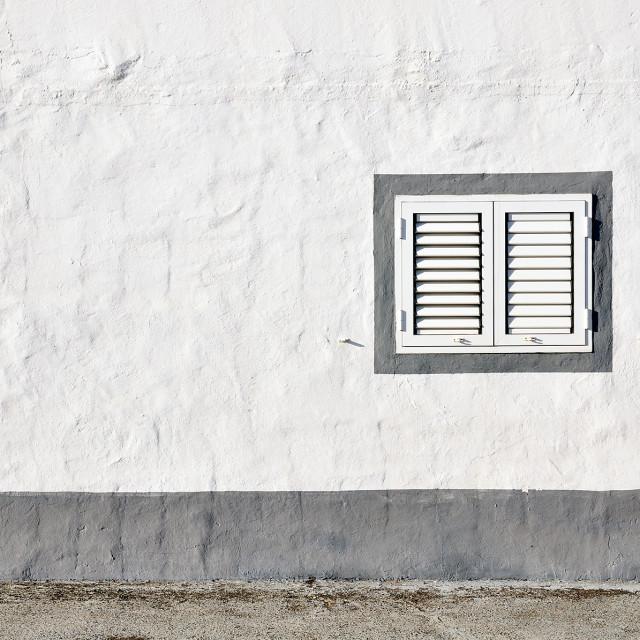 """Closed window"" stock image"