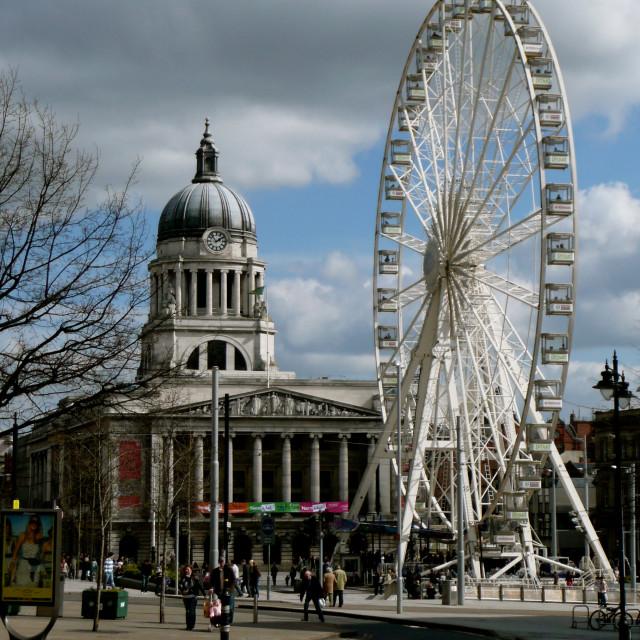 """Nottingham Wheel"" stock image"