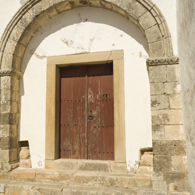 """""""Torres Vedras Church of Saint Mary"""" stock image"""