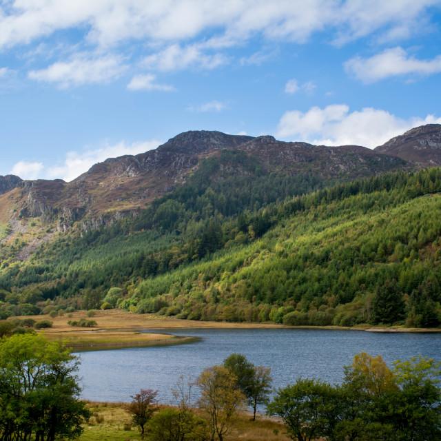 """Snowdonia, Wales"" stock image"