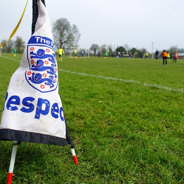 """""""FA Respect Campaign Respect Line"""" stock image"""