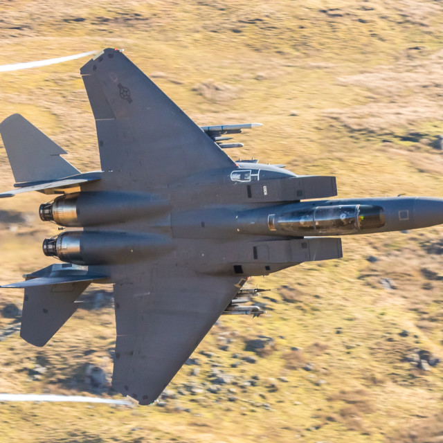 """F15E Eagle"" stock image"
