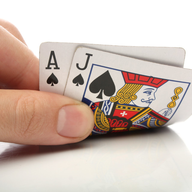 """Blackjack"" stock image"