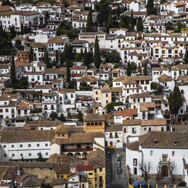 """Albaicín, Granada"" stock image"