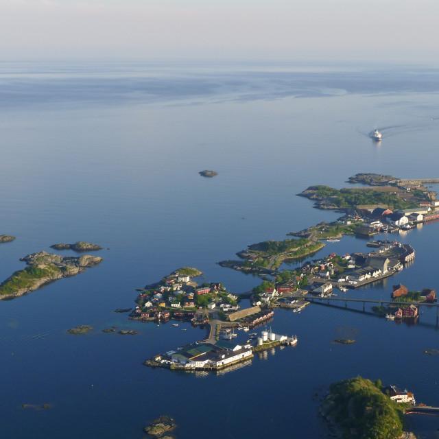 """Lofoten islands"" stock image"