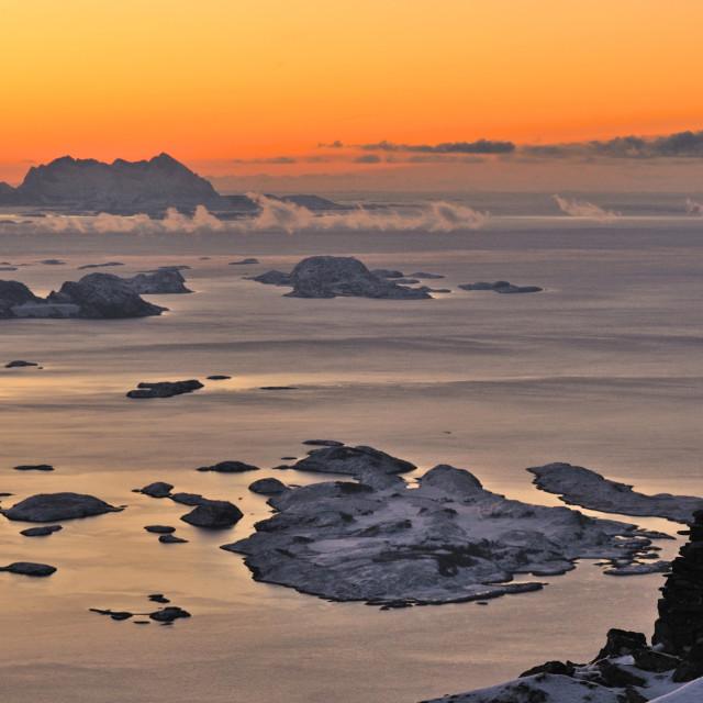 """Arctic landscape"" stock image"