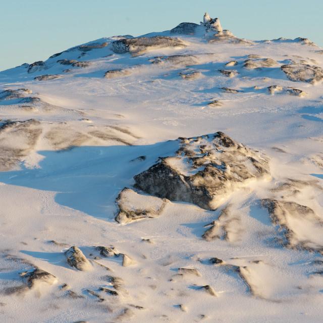 """Snow landscape"" stock image"