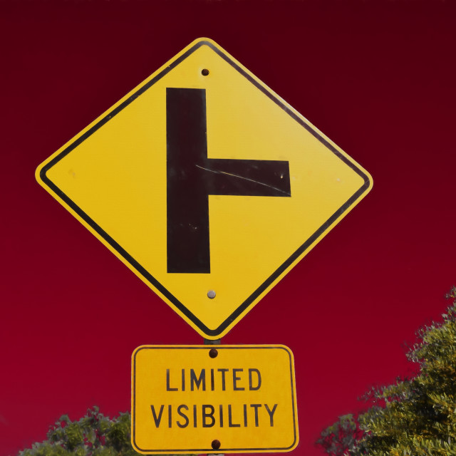 """Limited Visibility"" stock image"