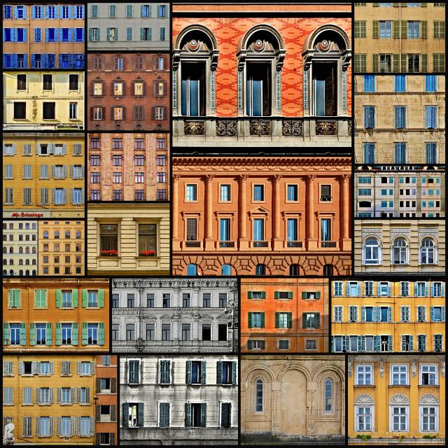 """Window Collage"" stock image"