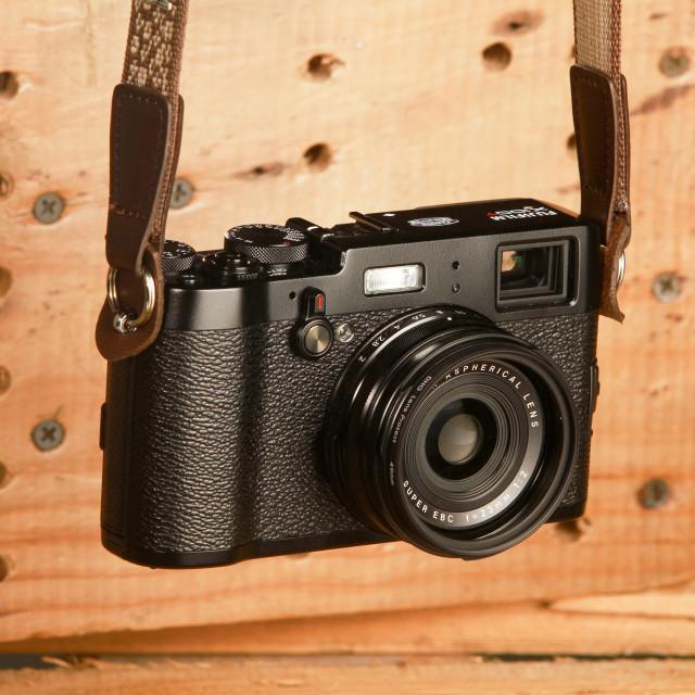 """""""Fujifilm X100T"""" stock image"""