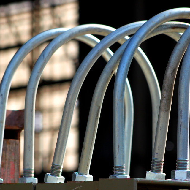 """Steel Pipe"" stock image"