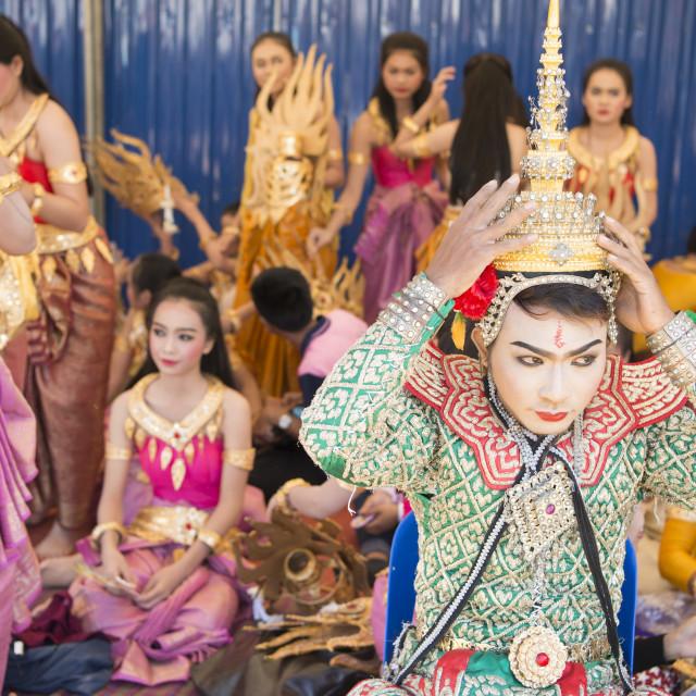 """THAILAND SURIN ELEPHANT ROUND UP FESTIVAL"" stock image"