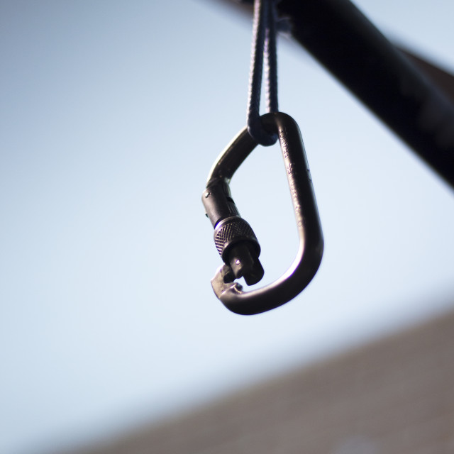 """""""Bar and hook in crossfit gym"""" stock image"""