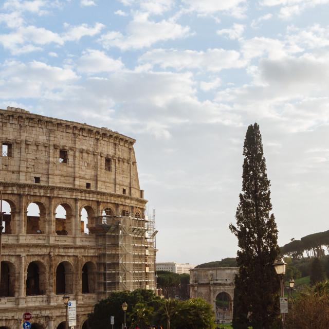 """Roman Colosseum"" stock image"