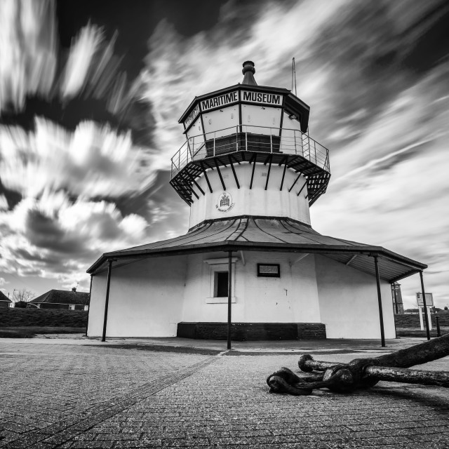 """""""Harwich Lighthouse Museum"""" stock image"""