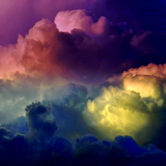 """Thunder Head Storm"" stock image"