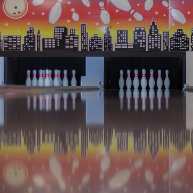 """Bowling"" stock image"