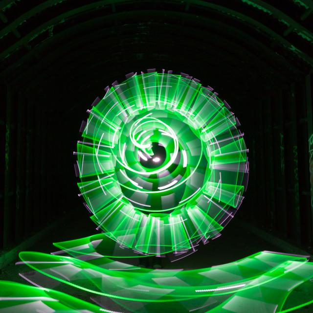 """""""Underground Vortex"""" stock image"""