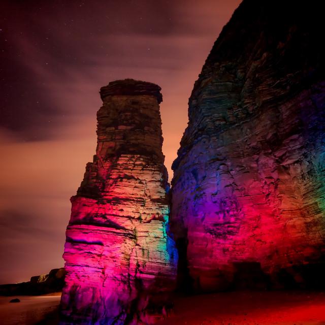 """""""Rainbow Marsden"""" stock image"""