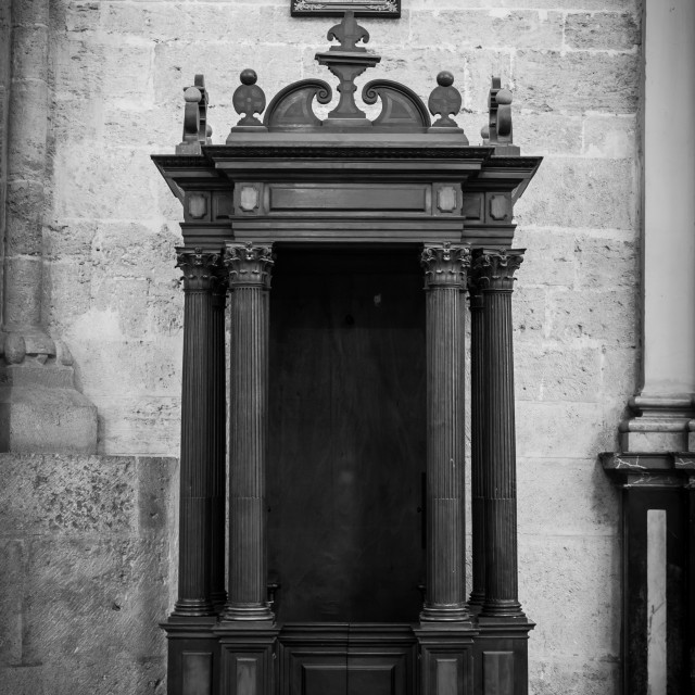 """""""Confessional"""" stock image"""