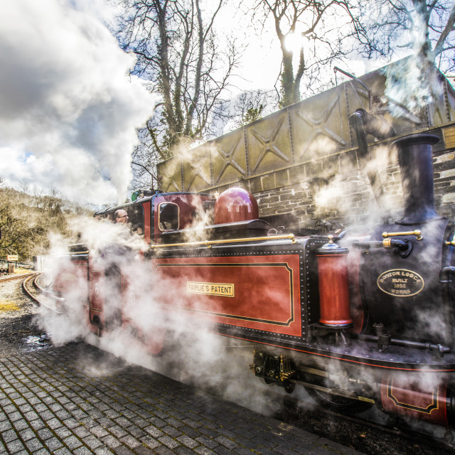 """STEAM TRAIN"" stock image"
