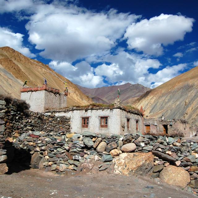"""Ladakhi Skies"" stock image"