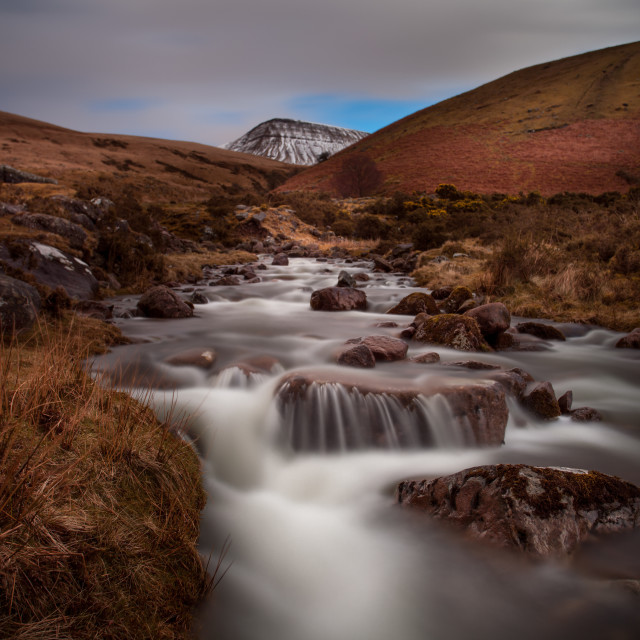 """Llyn y Fan Fach"" stock image"
