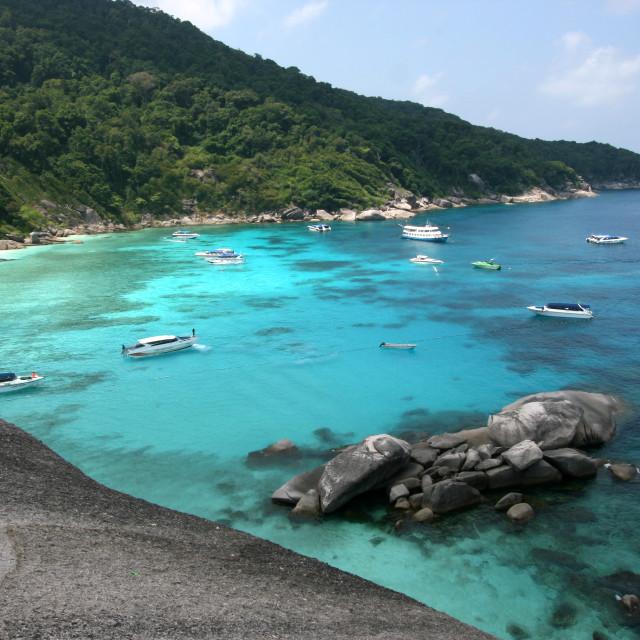 """Similar islands Thailand"" stock image"