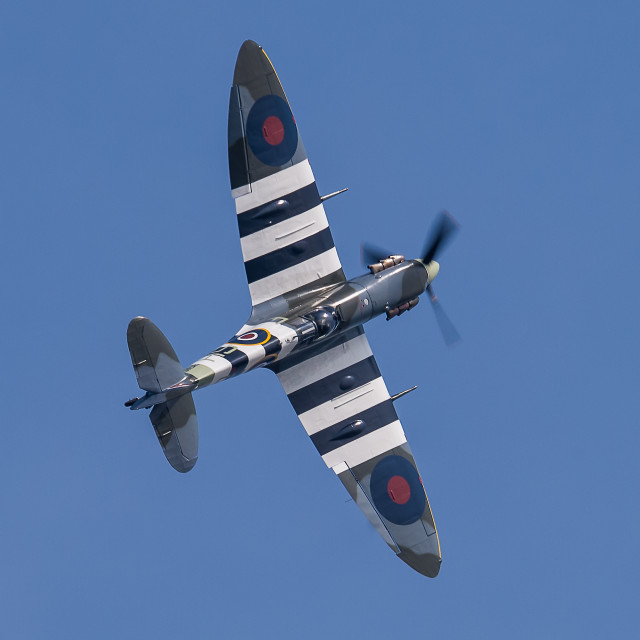 """Spitfire AB910"" stock image"