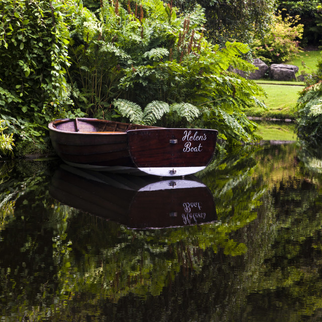 """Helen's Boat"" stock image"