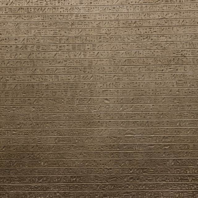 """Hieroglyph background"" stock image"