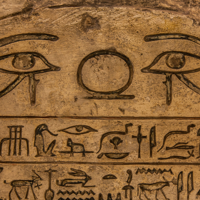 """Hieroglyph"" stock image"