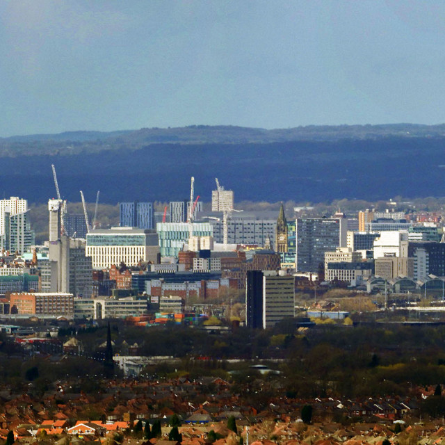 """Manchester Cityscape"" stock image"