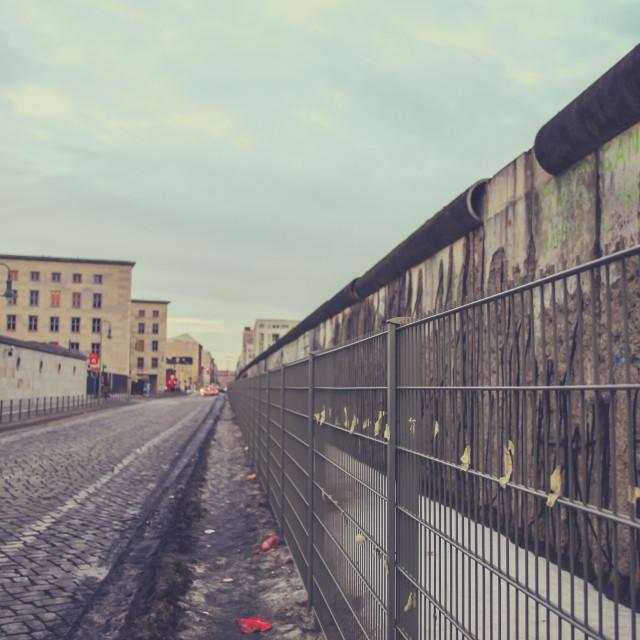 """Berlin wall"" stock image"