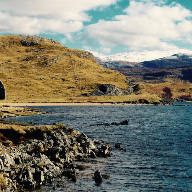 """Loch Assynt"" stock image"