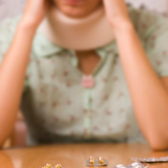 """Sickness (focus on pills)"" stock image"