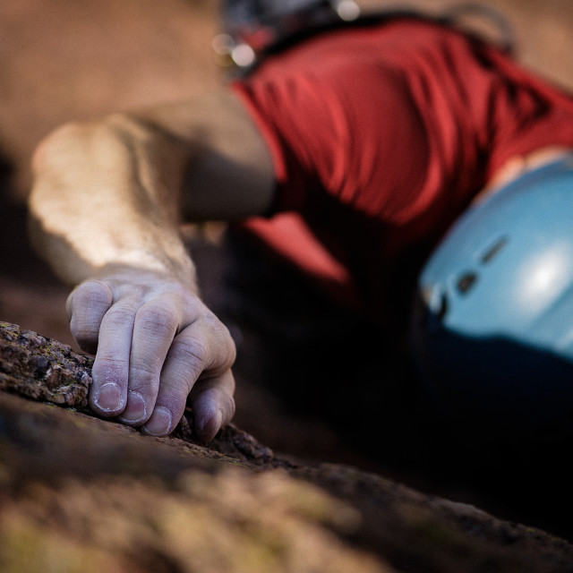 """Rock Climber"" stock image"