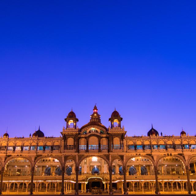 """Mysore Palace"" stock image"