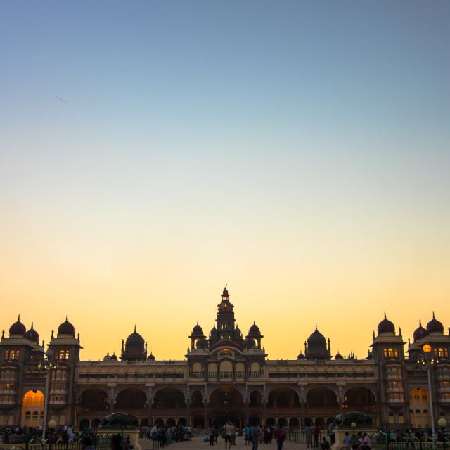 """""""Mysore Palace, India"""" stock image"""
