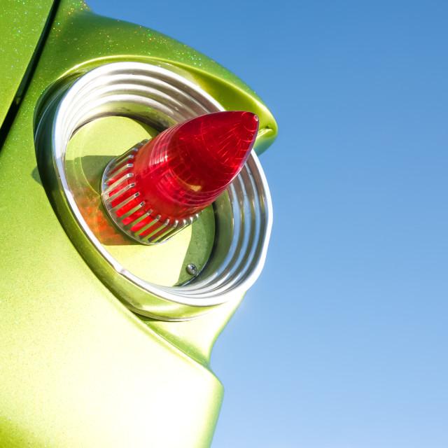 """""""retro tail-light"""" stock image"""