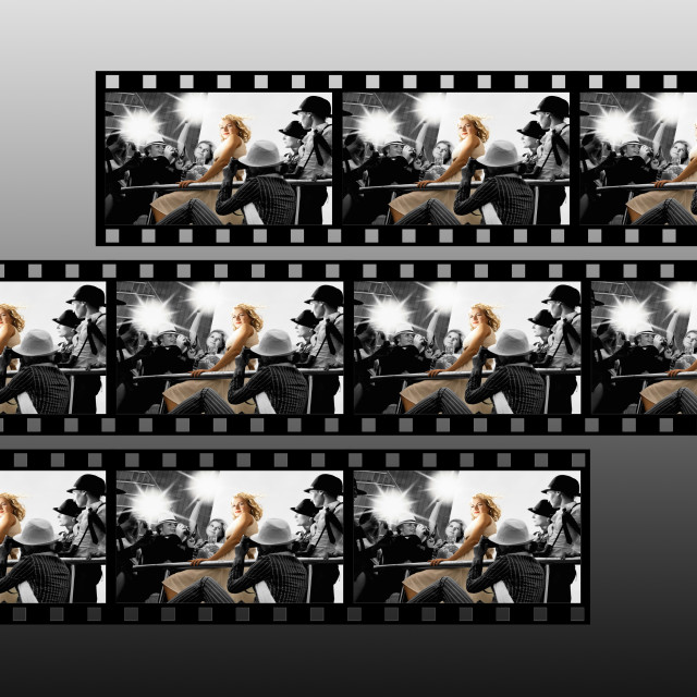 """Filmstrip collage"" stock image"