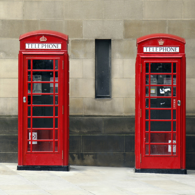 """Phoneboxes"" stock image"