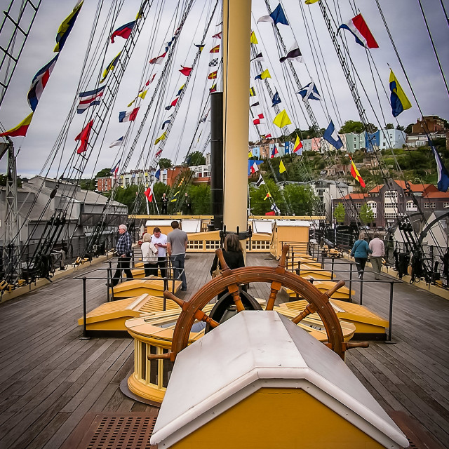 """""""SS Great Britain"""" stock image"""