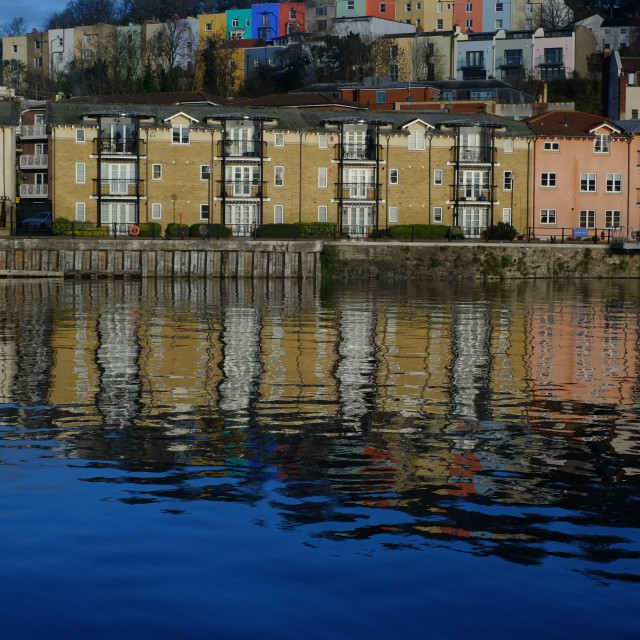 """Bristol Harbour"" stock image"