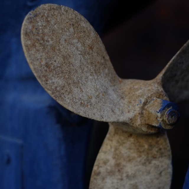 """""""Boat Propellor"""" stock image"""