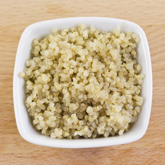 """""""Quinoa in a Bowl"""" stock image"""