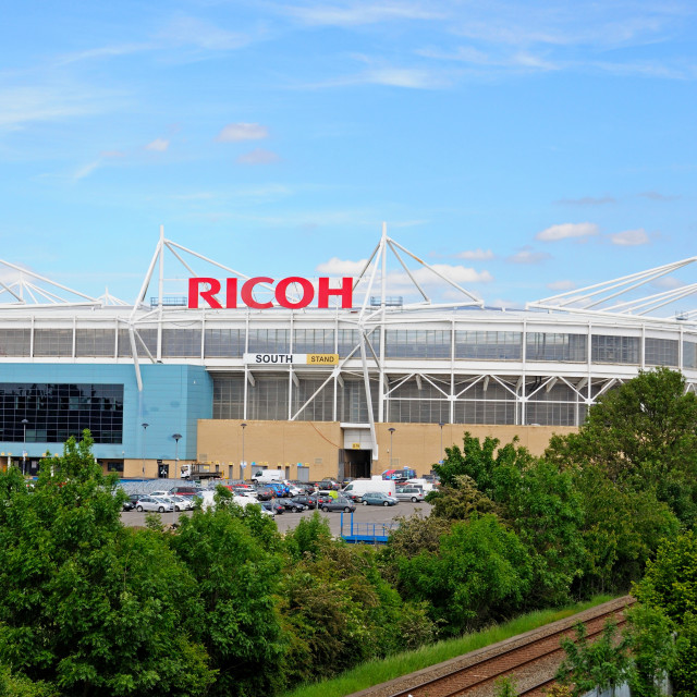 """Ricoh Arena stadium, Coventry"" stock image"