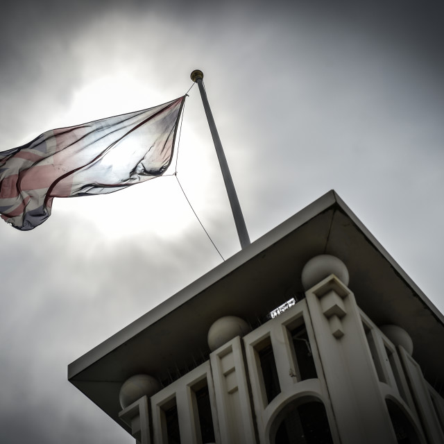 """Flag Brighton"" stock image"