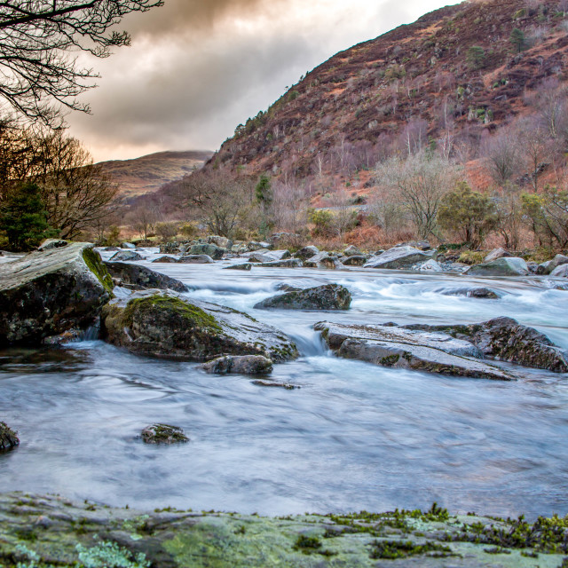 """Snowdonia National Park"" stock image"
