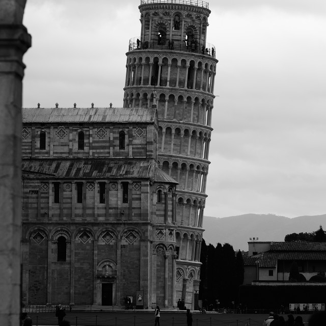 """Pisa tower"" stock image"